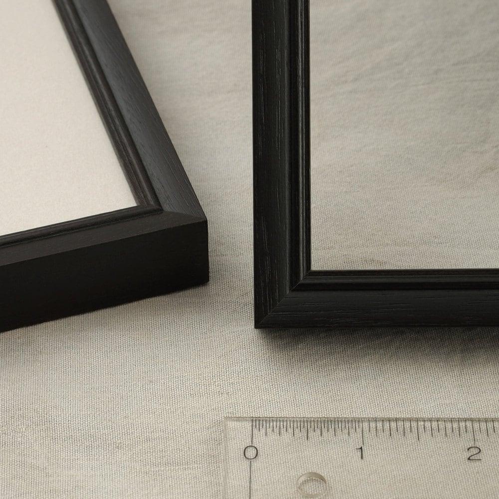 6x9, 6.5x8.5, 7x9 Picture Frame, Peruvian Walnut dark exotic wood ...