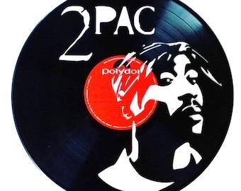 2 Pac - Vinyl Record Art