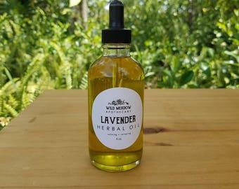 Lavender Herbal Oil | calming + relaxing