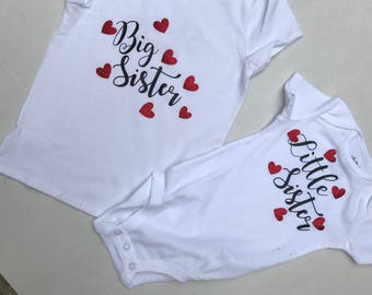 Matching Sibling Shirt Set