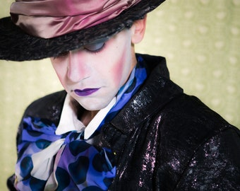 Alice in Wonderland The Mad Hatter Costume, Custom-made