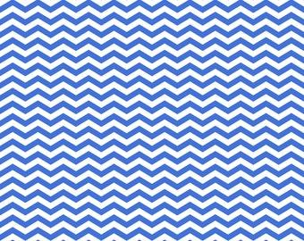 Royal Blue Chevron Instant Download