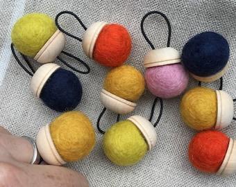Wool Pin Cushion Ring