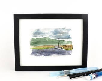 Let's Sail - giclee print