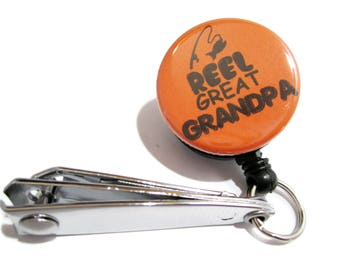 Reel Great Grandpa Fishing Tool, Fishing Gift, Grandpa Gift, Fishing, Grandpa Fishing Gift, Gift for Grandpa, Fishing Cutters, Orange 79