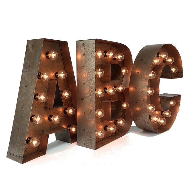 18 Marquee Letters ght up letter marquee letter A