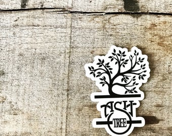 Ash Tree Sticker