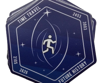 Time Travel Mission Sticker 1.0