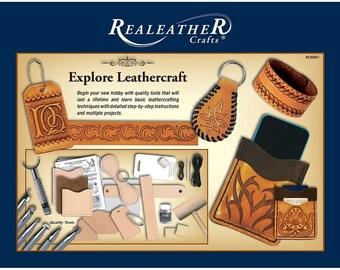 Explore Leathercraft Kit Realeather