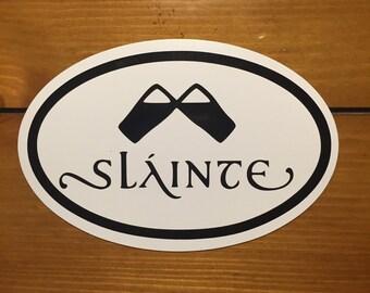 Gaelic Slainte magnet