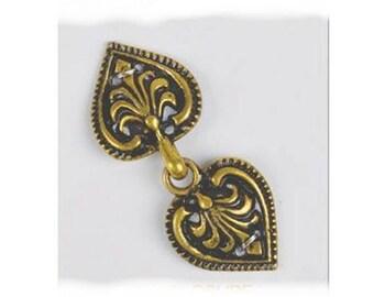 Romance Garment Clasps - Elizabethan Renaissance - Victorian