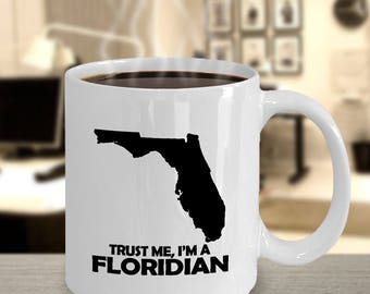 Florida Mug / Floridian Home/ Housewarming Mug / New Home Mug / My Home City /