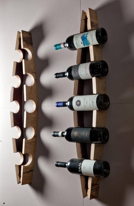 Porta bottiglie da parete - Portabottiglie a parete ...