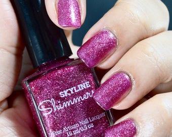 Glitter Nail Polish, Jelly Nail Polish, Pink Nail Polish, Indie Nail Polish, Indie Polish, Artisan Nail Polish, Nail Lacquer, ~PINK MOSCATO~