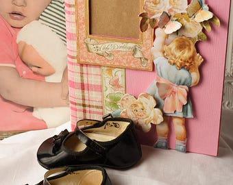 Baby Girl, Scrapbook Album, Mini Album, Photo Album, Graphic 45, Little Darlings