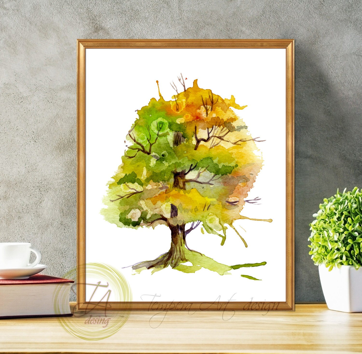 Nice Autumn Wall Decor Pictures - Art & Wall Decor - hecatalog.info