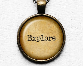 Explore - Pendant and Necklace