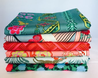 Amy Butler, Splendor, 1/2 yard Bundle, 6 Pieces