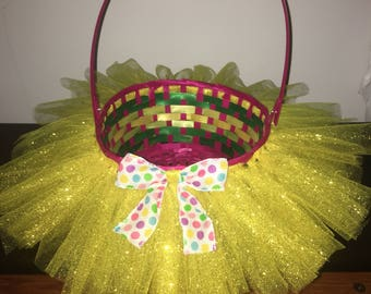 Tutu Cute Easter Basket