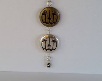 Sterling Silver and mixed metals The GREAT PUMPKINS! Necklace...