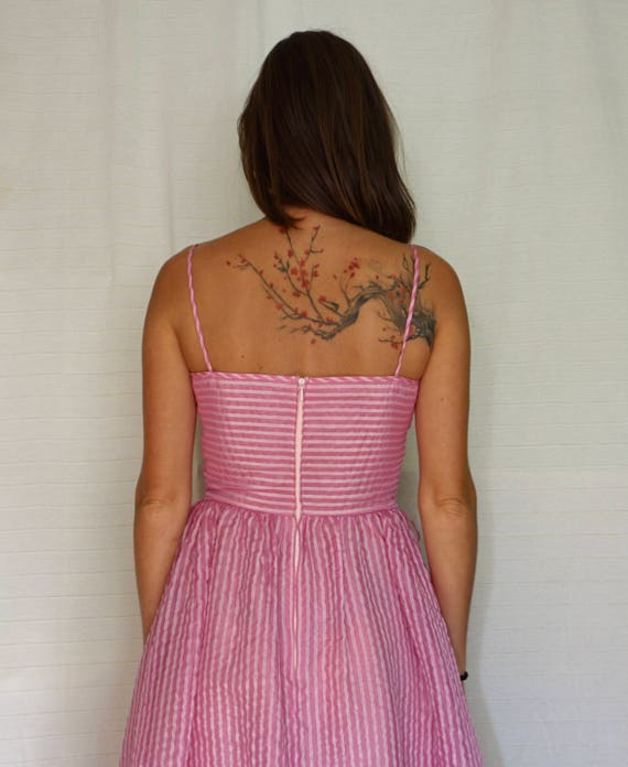 80s Purple and Pink Tulle Dress