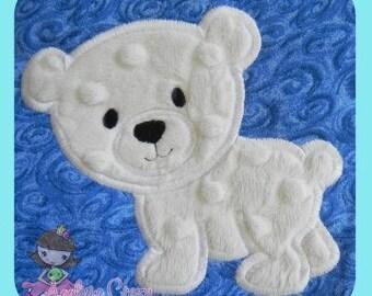 Polar Bear Applique design