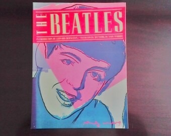 The Beatles 1980 Book Andy Warhol Cover Artwork