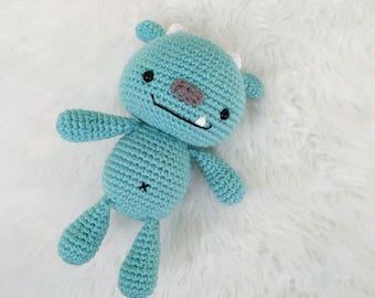 Pattern: Crochet Monster Pattern, Amigurumi Monster Pattern, Pattern Tutorial, Crochet Snuggle Monster, Amigurumi Monsters, Crochet Pattern