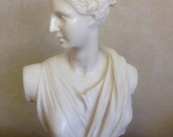 Artemis (Diana) Classical Bust - MarbleCast