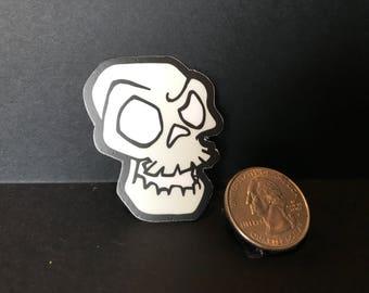 Mr. Skull Vinyl Sticker