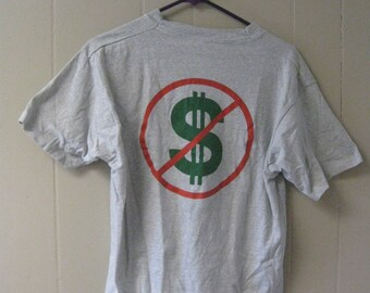 NO MONEY Vintage Tshirt