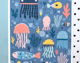 Under the sea print! Children's print