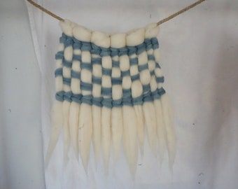 Woven Indigo Dream | Naturally Dyed Merino Weaving