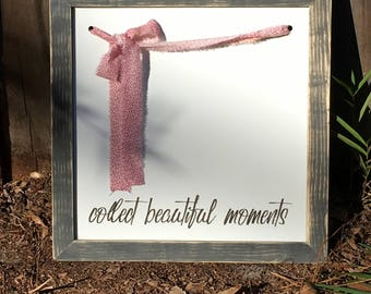 Farmhouse Frames With a Twist 'Collect Beautiful Moments'