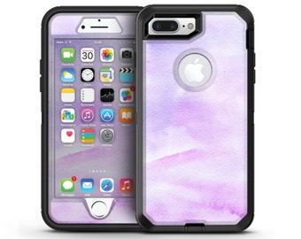 Purple Absorbed Watercolor Texture - OtterBox Case Skin-Kit for the iPhone, Galaxy & More
