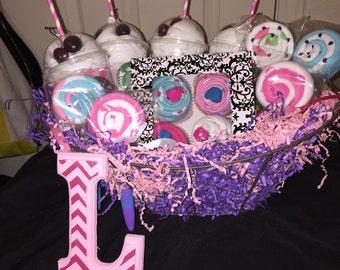 Baby Girl Customizable Gift Set