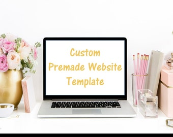 First Payment -Custom Premade Wix  Template for your website - First Installment