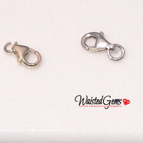 Upgrade Lobster Clasp Sterling Silver or 14k gold (Add On) zmw9987