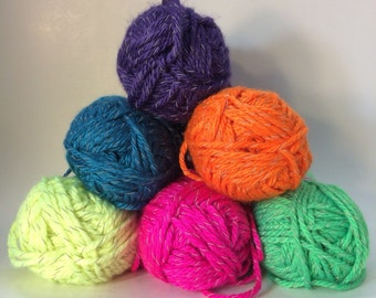 Reflective Yarn by Red Heart - 5 Colors available
