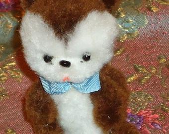 Vintage ARA wool Bear with Bow Tie