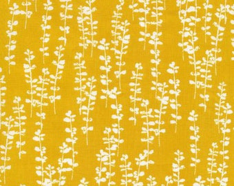 Sow and Sew - Thyme Gold Mustard by Eloise Renouf from Cloud 9 Fabrics