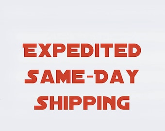 Expedited Same-Day Shipping