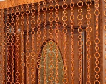 Door Curtain door beads door bead curtain  Decor Wood blinds Door Beads Curtains Beaded Door Curtain Wood Bead Door Curtain Handmade
