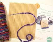BagCard loom weaving kit ...