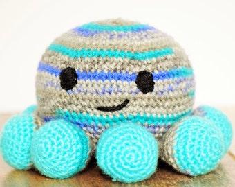 Octopus, Crochet Toys, Crochet Octopus, Made to Order, Handmade Toys, Stuffed Animals, Amigurumi Octopus, Handmade Toys, LivlandiaWithLove