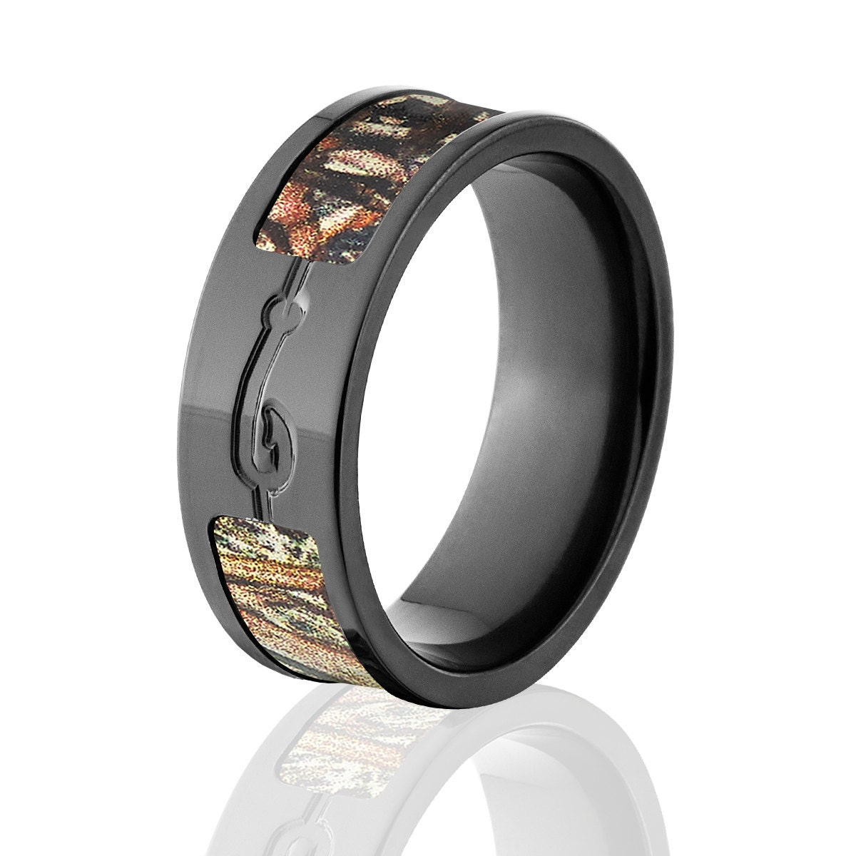 staghead bands wedding lined designs great rings military best of jewelry ring wood band mens