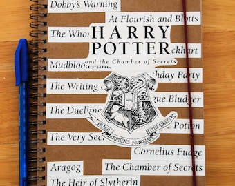 Harry Potter Chamber of Secrets notebook