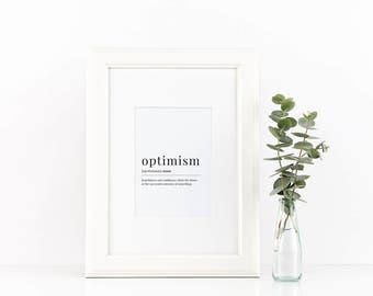 Optimism • 8x10 • INSTANT DOWNLOAD
