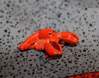 Gerry's Enameled Lobster Pin