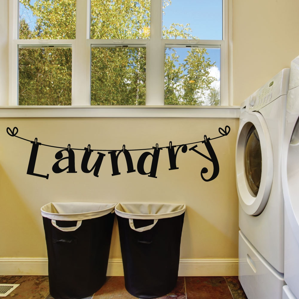 Laundry Room Wall Decals Laundry Room Decal Laundry Room